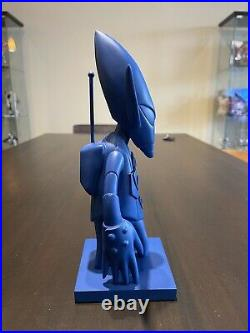 Futura x New York Mets Collaboration MLB Blue Pointman Bobblehead Figure Ltd Ed
