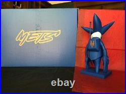 Futura x New York Mets Collaboration MLB Blue Pointman Bobblehead Figure Ltd Ed
