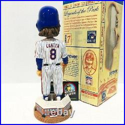 GARY CARTER New York Mets 2003 Cooperstown Collection Limited Ed Bobble Head
