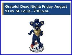 Grateful Dead Dancing Bear Dead Head bobblehead Kansas City Royals Presale