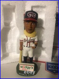 Greenville Braves Andruw Jones Bobblehead GB Atlanta RARE 2002