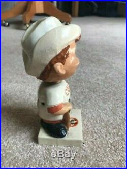 HOUSTON COLT. 45's BOBBLE HEAD ASTROS, BASEBALL EXCELLENT CONDITION