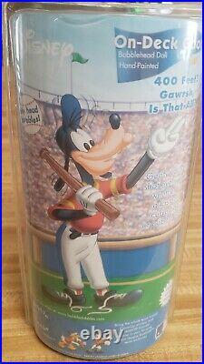 HTF Houston Astros Disney Goofy Pitcher Bobblehead AGP NEW Sealed bobble head