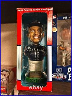 Ichiro Suzuki Seattle Mariners MLB Baseball Bobble Heads 2001 Limited From Japan