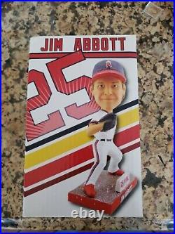 JIM ABBOTT BOBBLEHEAD April-29-2017 66ers game give away