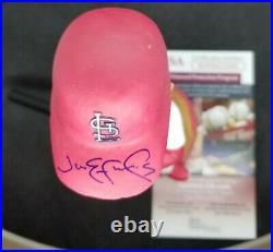 Jim Edmonds Autographed Signed Bobblehead SGA 2014 St Louis Cardinals JSA COA