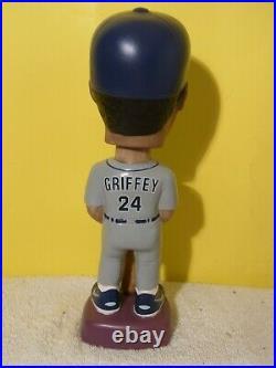 Ken Griffey Jr. MLB SAM Bobblehead MINT NIB RARE Gray Jersey