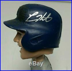 Kike Hernandez Signed SGA Los Angeles Dodgers Baseball Bobblehead Fanatics