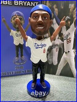 Kobe Bryant Los Angeles Dodgers 2018 World Series Bobblehead Lakers Black Mamba