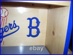 LA Dodgers Bobblehead Display Case with Blue B logo READY TO SHIP