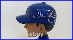 LA Dodgers Dave Roberts Signed Bobblehead withCOA + World Series Rally Towel