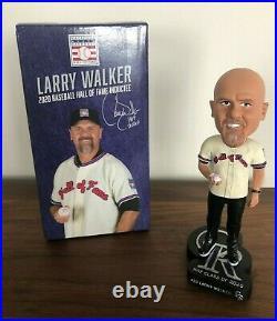 Larry Walker Hall of Fame HOF Colorado Rockies Bobble Head Bobblehead 2021 2020
