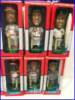 Lot of 15 MLB 2001 Bobble Head Bobblehead Bobble Dobbles Collectible Baseball