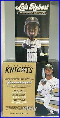 Luis Robert Bobblehead Rare Only 250 Made Charlotte Knights White Sox Rc Rookie