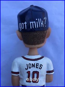 MLB 2002 Atlanta Greenville Braves Baseball Chipper Jones Bobblehead RARE