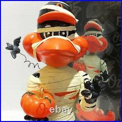 MUMMY BIRD Baltimore Orioles Mascot 2015 October Bobble of The Month Bobble Head