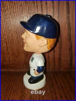 Mickey Mantle Mini Vintage Bobble Head/Bobbing Head/Nodder Gem Mint 1962 Yankees
