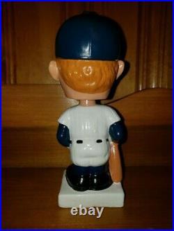 Mickey Mantle Square White Base Nodder Bobble Head Bobbing Head Gem Mint 1961