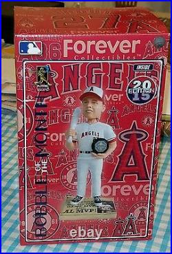 Mike Trout Angels 2015 Bobblehead of the Month MVP Limited Edition #4 of 262