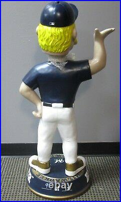 Milwaukee Brewers Bernie Brewer Mascot 3 foot Bobblehead Nodder NIB- MLB 36 in