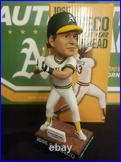 Oakland A's Jose Canseco 1986 Rookie of the Year bobble bobblehead SGA