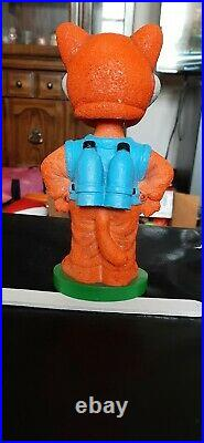 Orbit Akron Aeros Rubberducks Mascot Bobblehead