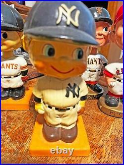 Original 1960s New York Yankees Nodder Bobbin Head EXCELLENT CONDITION