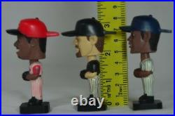 POST CEREAL 02 & 03 BASEBALL 3 MINI BOBBLE HEADS, Bagwell, Williams, Griffey
