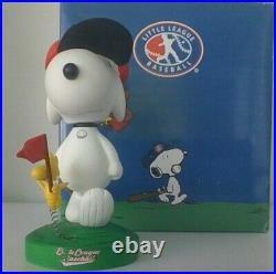 Peanuts Snoopy & Woodstock Little League Baseball Westland Bobblehead HTF
