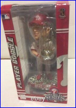 Philadelphia Phillies Brad Lidge 2008 World Series Champions Bobble Head