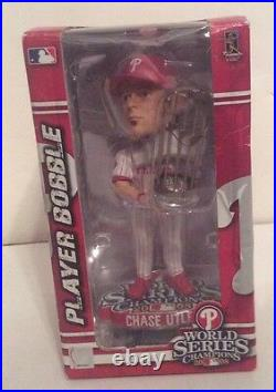 Philadelphia Phillies World Series Trophy Chase Utley Bobblehead