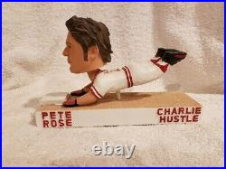RARE 2000's Pete Rose Charlie Hustle Bobblehead of 10K, Cincinnati Reds, MINT