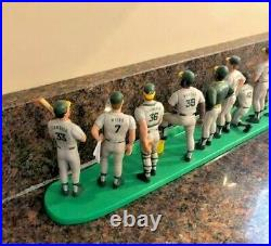 RARE HTF 1989 Oakland Athletics Team Starting Lineup Set A's McGwire Canseco