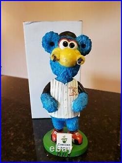 RARE Kannapolis Intimidators Dub mascot bobble head Chicago White Sox NEW