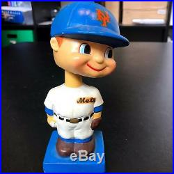 Rare 1960 New York Mets Baseball Bobblehead Doll