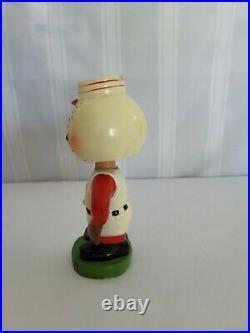 Rare 1962 Vintage Cincinnati Reds Mlb Mascot Baseball Bobblehead Mr Red Legs