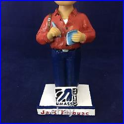 Rare JACK KEROUAC On the Road UMASS Lowell Bobblehead, Spinners Red Sox