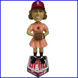 Rockford Peaches AAGPBL Girls Baseball Numbered to Only 500 Bobblehead