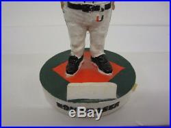 Ron Fraser Miami Hurricanes Limited Edition SGA Baseball Bobblehead withbox