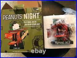 SF Giants Special Event Peanuts Flying Ace Bobblehead + Lamont Wade Tee
