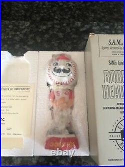Sams Cincinnati Reds Mascot Mr. Redlegs Head! # Out of 3,000! RARE