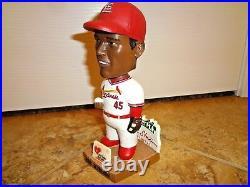 St Louis Cardinals Bob Gibson Palm Beach Bobblehead Blood Bank SGA 8-14-04 RARE