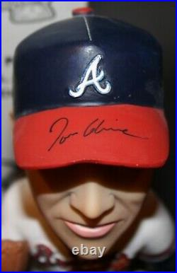 Tom Glavine SGA Signed Bobblehead Autograph Atlanta Braves Auto Inscription