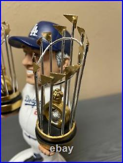 Tommy Lasorda 2 X 1981 1988 World Series Champion FOCO Bobblehead