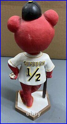 Traverse City Beach Bums Sunburn Mascot Bobblehead Frontier League Baseball SGA