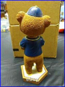 Traverse City Beach Bums Suntan Mascot Bobble head Frontier League Baseball Bear