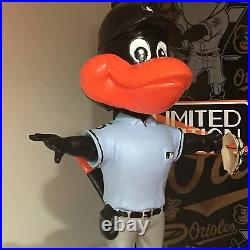 UMPIRE BIRD Baltimore Orioles Mascot 2015 Sept Bobble Of The Month Bobble Head