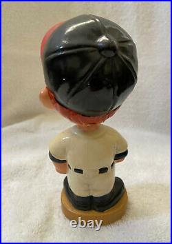 VINTAGE 1960s MLB CALIFORNIA ANGELS BASEBALL BOBBLEHEAD NODDER BOBBLE HEAD