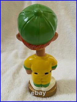 VINTAGE 1960s MLB OAKLAND A'S ATHLETICS BASEBALL BOBBLEHEAD NODDER BOBBLE HEAD