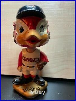 VINTAGE 1960s MLB ST LOUIS CARDINALS BASEBALL BOBBLEHEAD BOBBLE HEAD NODDER